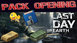 Last day on earth : pack opening