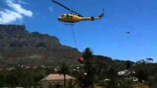 Fire Fighting Helicopters in Cape Town