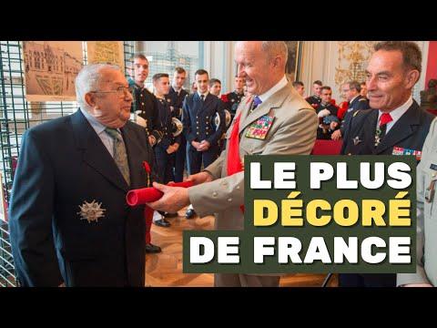 #Portrait du major Martin, sous-officier le plus décoré de France