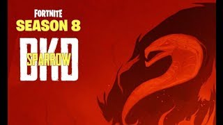 FORTNITE(SEASON 8) use code DKD-Sparrow in the item Shop