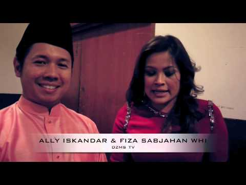 Aksi Cute Ally Iskandar & Fiza Sabjahan Wanita Hari Ini