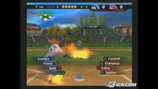 MLB SlugFest: Loaded Sports Gameplay_2004_03_12