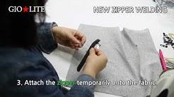 New method of zipper welding