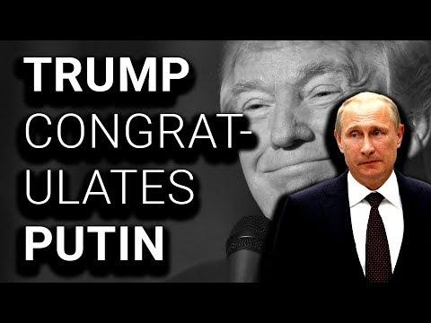 White House: Trump Won't Congratulate Putin; Trump: Congratulations!