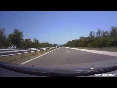 Traseu Bucuresti - Varna cu masina prin Giurgiu / Ruse (timelapse)