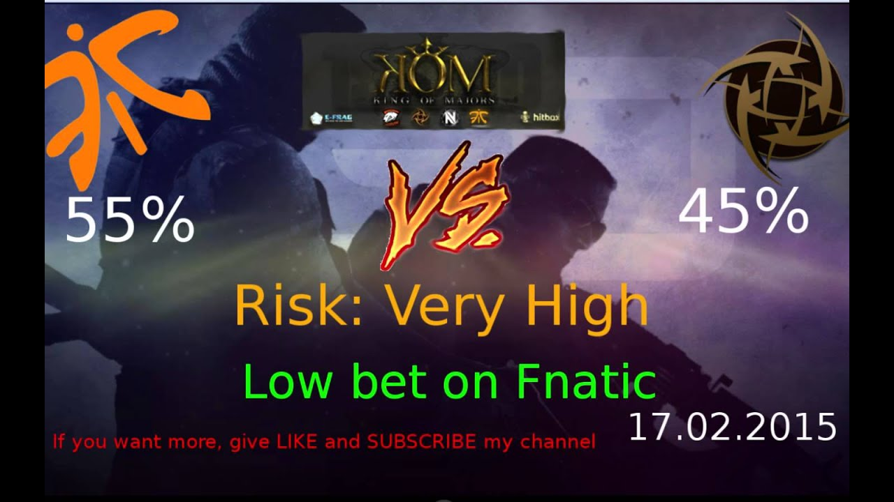 Betting predictions cs go proplay betting tips