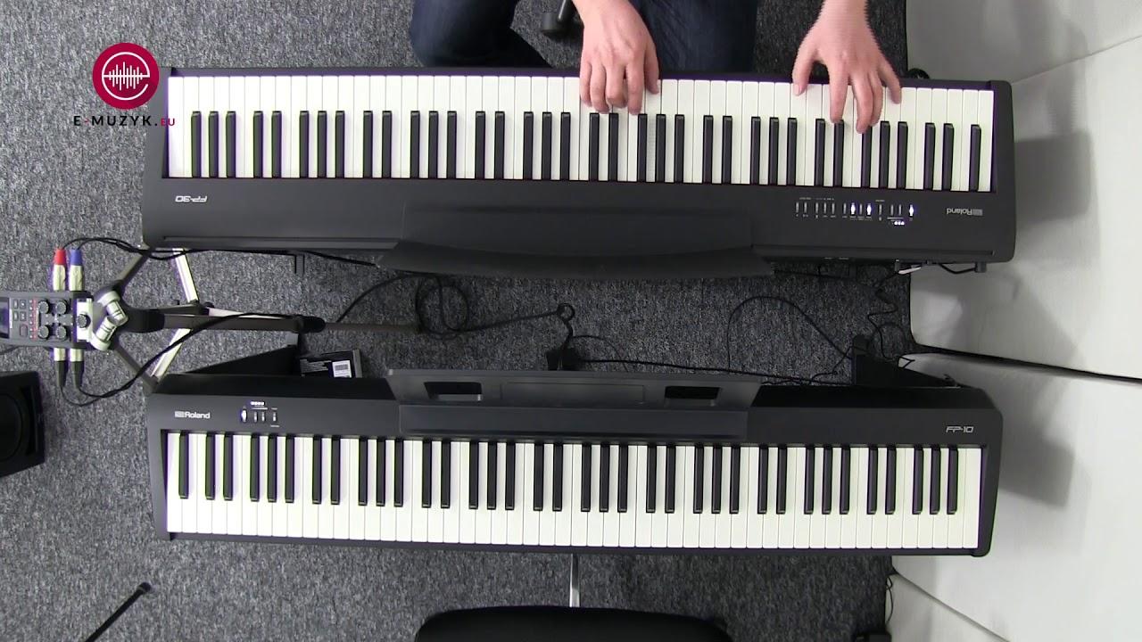 Roland Fp 10 Vs Fp 30 Comparison Piano World Piano Digital Piano Forums