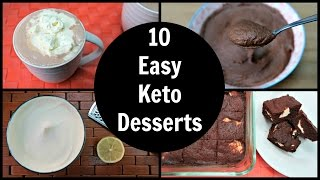 ... - simple ketogenic dessert recipes that allow you to still enjoy sweets like chocolate mousse, brown...