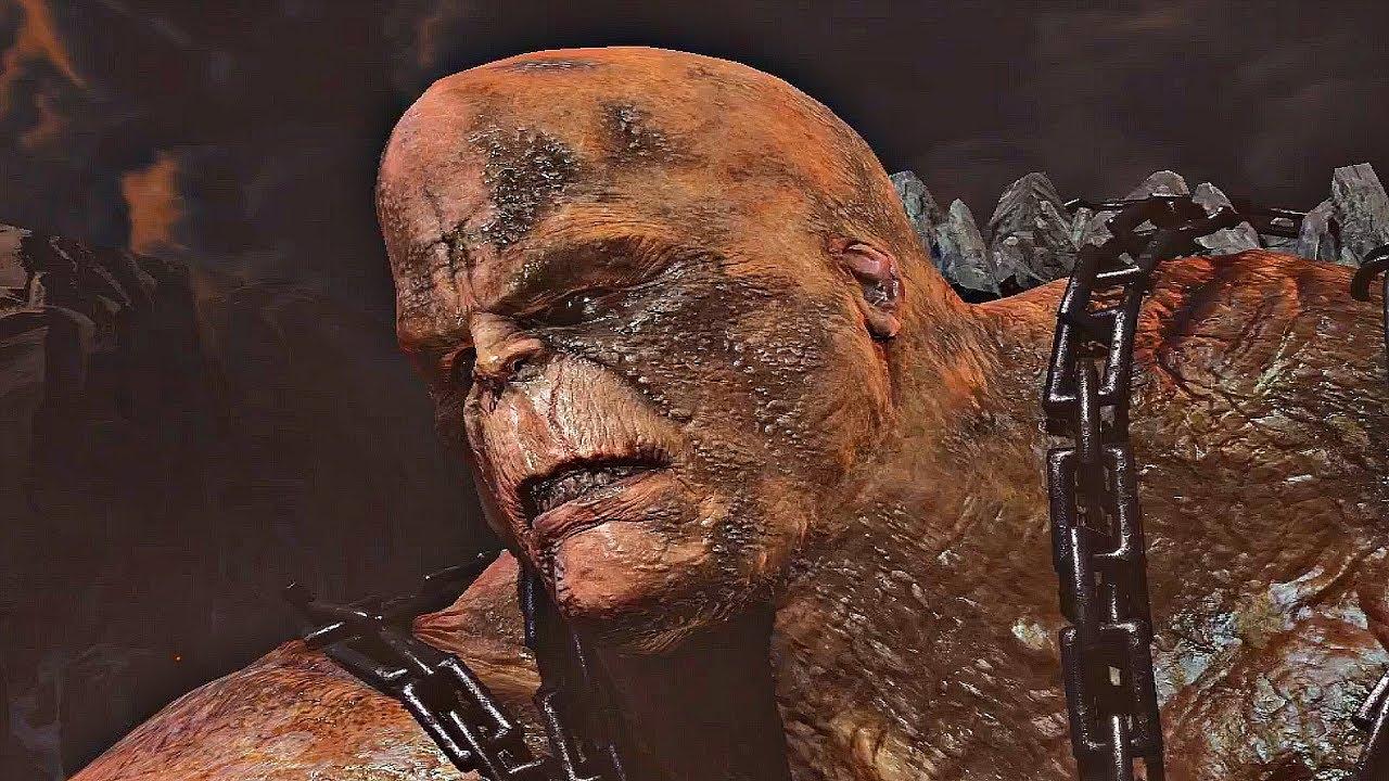God of War 3 - Kratos Defeats Cronos (Father of Zeus ...
