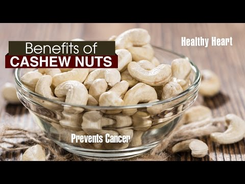 10 Amazing Benefits of cashew nuts