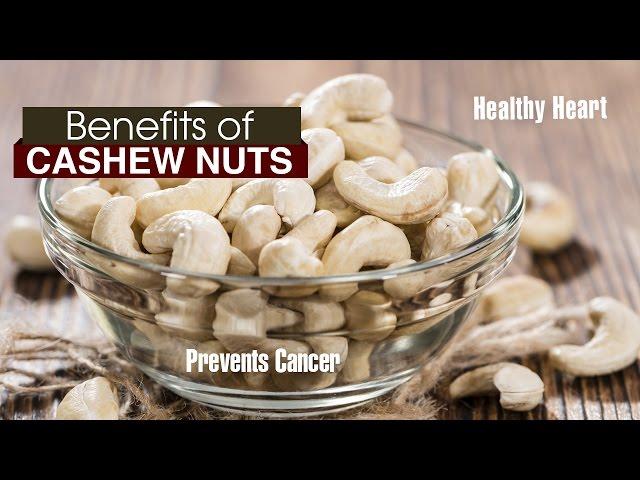 10 Amazing Benefits of cashew nuts