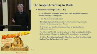 41. Jesus on Marriage and Divorce (Mark 10:1-12)