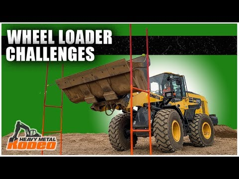 Wheel Loader Competition | Heavy Metal Rodeo // Ep. 168
