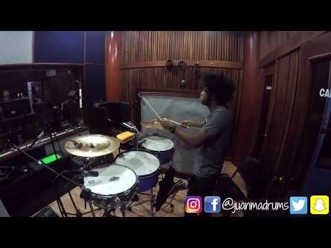 Que Viva El Amor - Recording Session - Timbal - Album Sin limites   JuanmaDrums