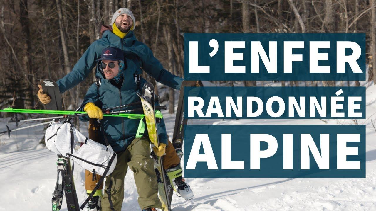 NOTRE SORTIE DE RANDONNÉE ALPINE TOURNE AU CAUCHEMAR