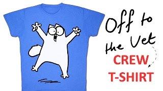 Simon's Cat 'Off to the Vet' Indiegogo Crew T-shirt Perk!
