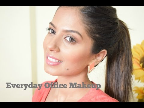 Everyday office makeup for Brown, Olive skin