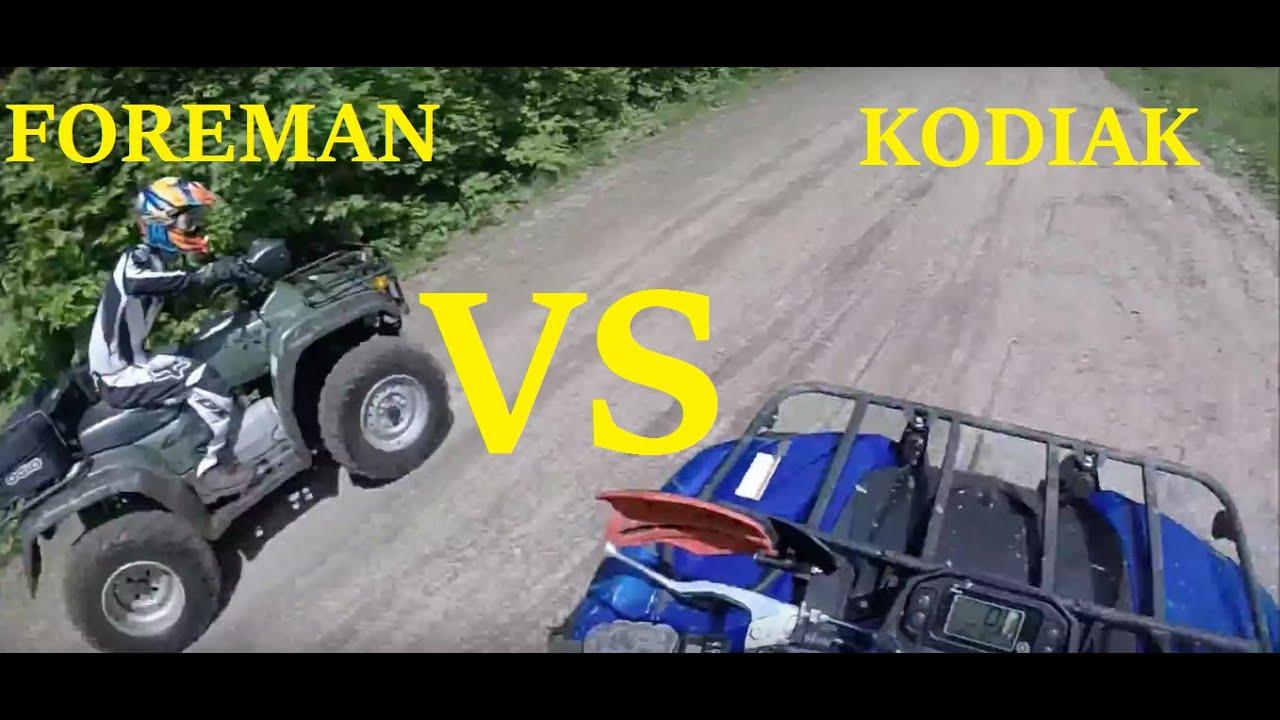 Yamaha Kodiak  Fan