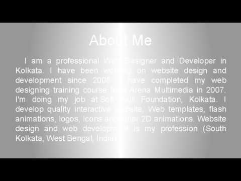 Freelance Web Designer & Developer in Kolkata l Tapas Nandi