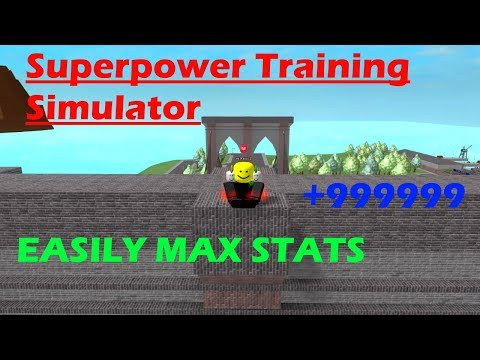 Roblox: Superpower Training Sim - How To MAX Your Stats FAST