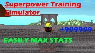 Roblox: Superpower Training Sim - How To MAX Your Stats FAST! (Tricks)