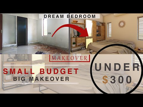 Modern Bedroom Makeover 2019 [ LOW BUDGET]