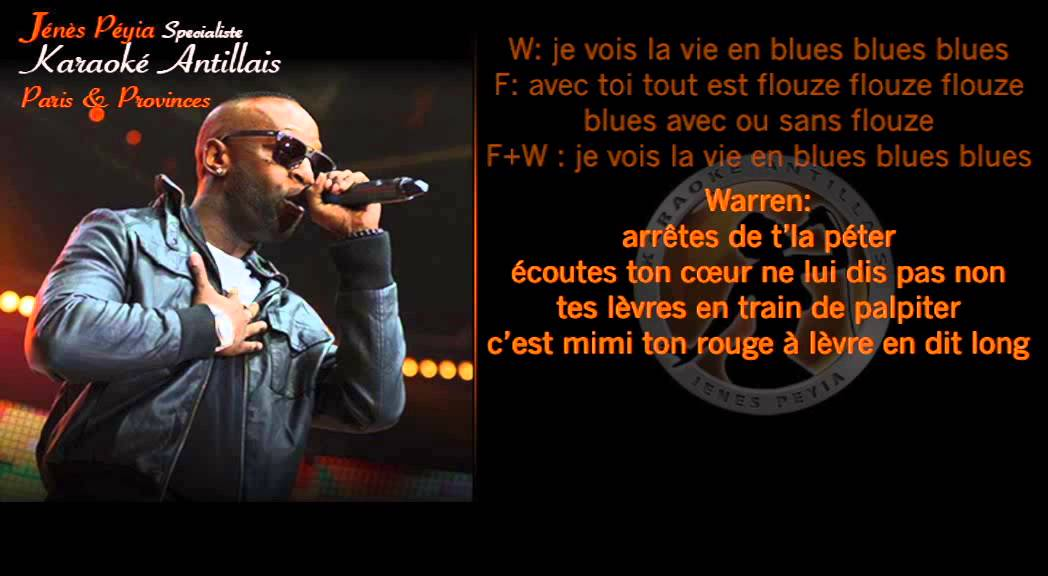 [PAROLES] Warren - la vie en blues (feat Fanny J) - YouTube