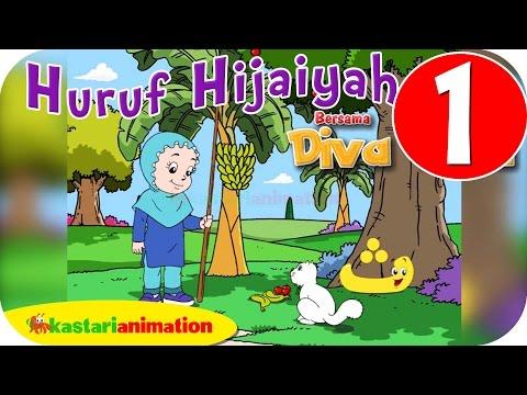 Huruf Hijaiyah Bersama Diva (full Version)   Part 1   - Kastari Animation Official