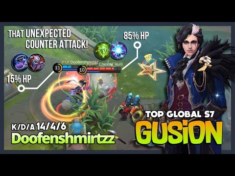 The Magic of Shadowblade Slaughter by Doofenshmirtzz Top Global Gusion S7 ~ Mobile Legends