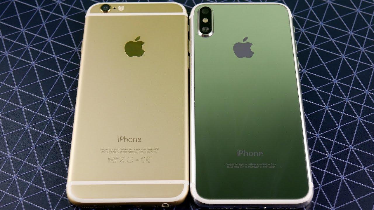 Iphone 6 vs iphnie 8