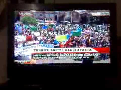 Taksim Gezi Eylemi Paralelinde Bütün Türkiye
