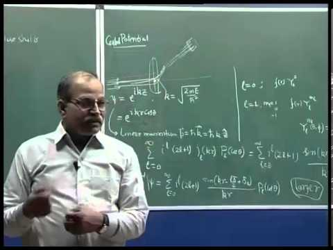Mod-01 Lec-14 Scattering of nucleons