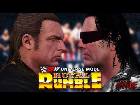 WWE 2K17 Universe Mode - Ep 1 - ROYAL RUMBLE!! (Part 1)