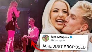 Jake Paul & Tana Mongeau are engaged and yes, it