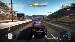 Need For Speed Hot Pursuit 2010 Hot Pursuit Point of Impact Police Carrer Racethrough