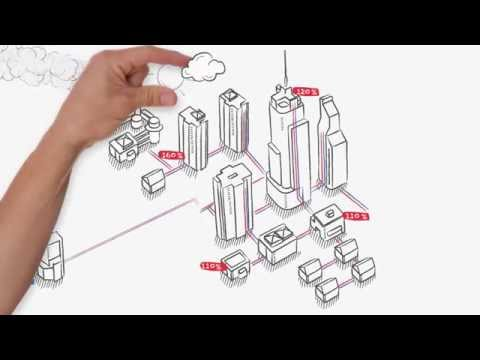 Benefits of differential pressure controllers in district heating or cooling systems (constant flow)