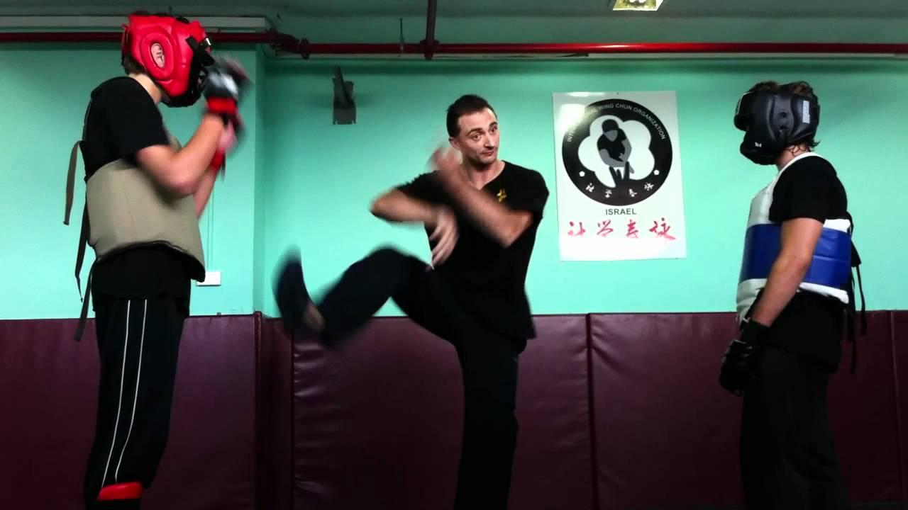 Download wing chun israel - Semifree fight  (entry level chum kiu - no knees and elbows)
