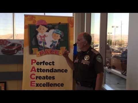 Sheriff Irwin visits Toyota of Yakima