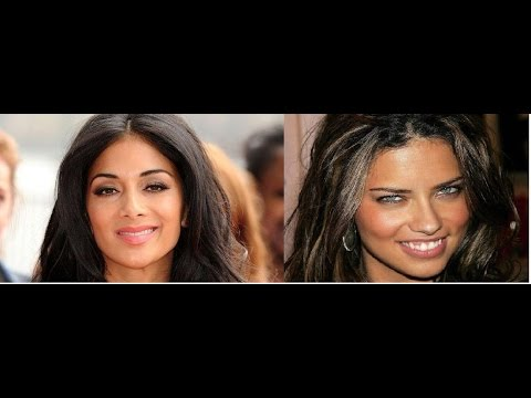 Beauty battle: Adriana Lima vs Nicole Scherzinger