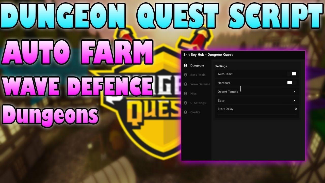 How To Dungeon Quest Script 2021 Tutorial Step By Step