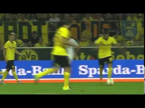 Все голы матча Боруссия Д-Вольфсберг(06.08.2015)