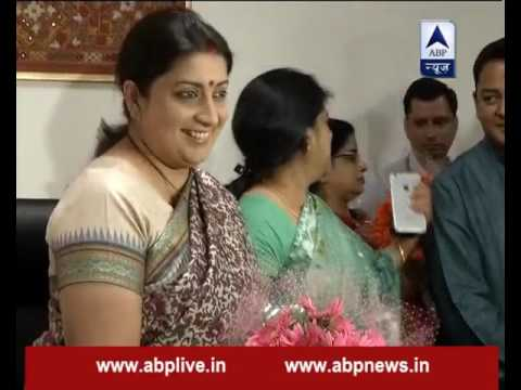 Jan Man: Know why was Smriti Irani shifted from HRD to Textile