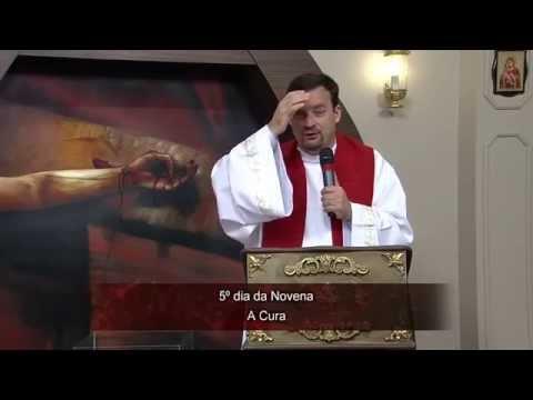 Novena das Mãos Ensanguentadas de Jesus 08/07/2014 - 5º Dia: A Cura
