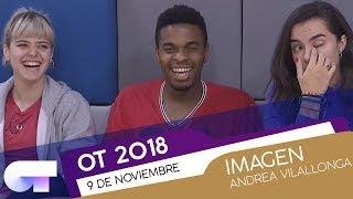 Clase de IMAGEN con ANDREA VILALLONGA (9NOV) | OT 2018