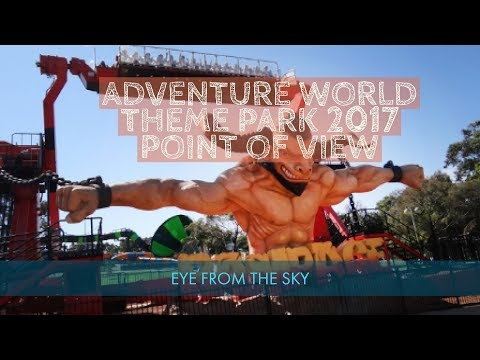 Adventure World Theme Park Perth 2017