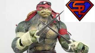 Teenage Mutant Ninja Turtles 2014 Threezero Raphael 1/6 Scale Collectible Movie Figure Review