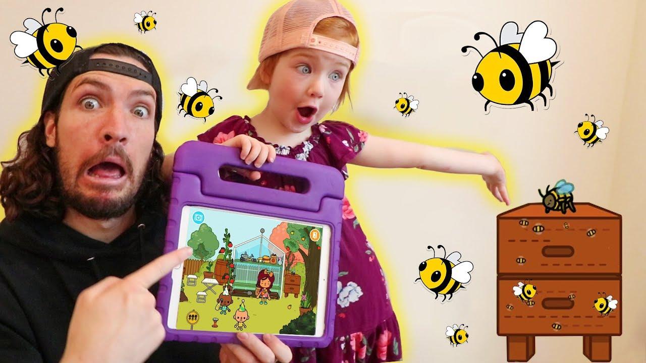 Download Adley App Reviews | Toca Life Town | ultimate HIDE N SEEK | Attacked by Bees