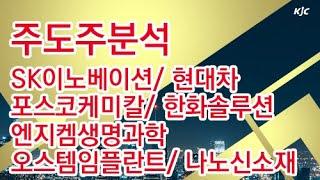 [김종철 원포인트레슨] 주도주분석 SK이노베이션 현대차 포스코케미칼 한화솔루션 엔지켐생명과학 오스템임플란트 나노신소재