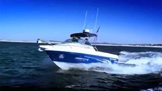 VIDEO HAINES HUNTER 560 CLASSIC OFFSHORE