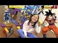 Kids' Toy Channel: Marble Racing, Dragon Ball Z Goku VS Vegeta! Kids' Racing Toys Race #21